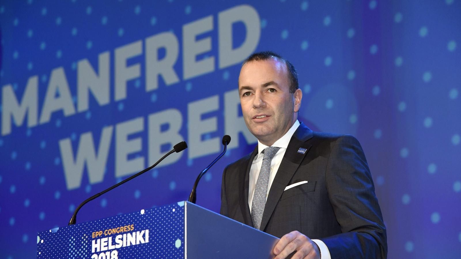 Els populars europeus escullen l'alemany Manfred Weber per presidir la Comissió el 2019