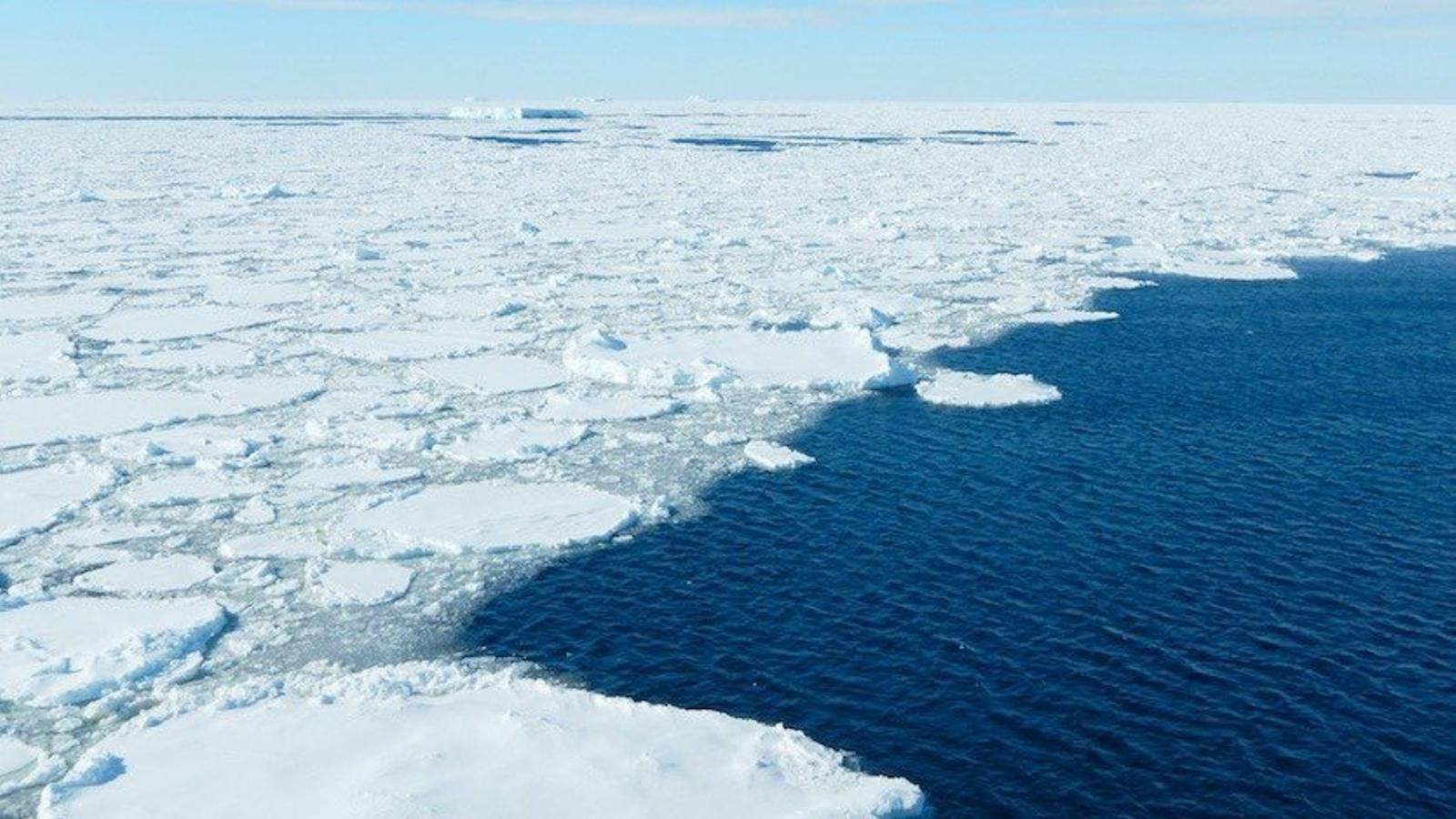 L'oceà Antàrtic podria batre un nou rècord de poca extensió de gel