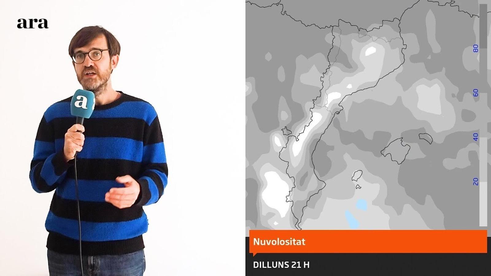 La méteo: el fred es queda i s'accentuarà més