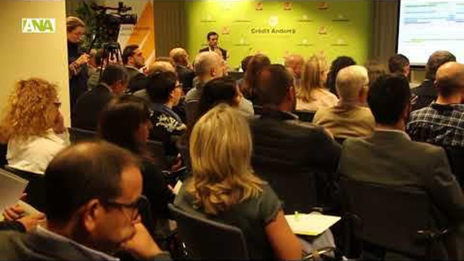 Conferència d'Antoni Bisbal i Joan Iglesias sobre el delicte fiscal