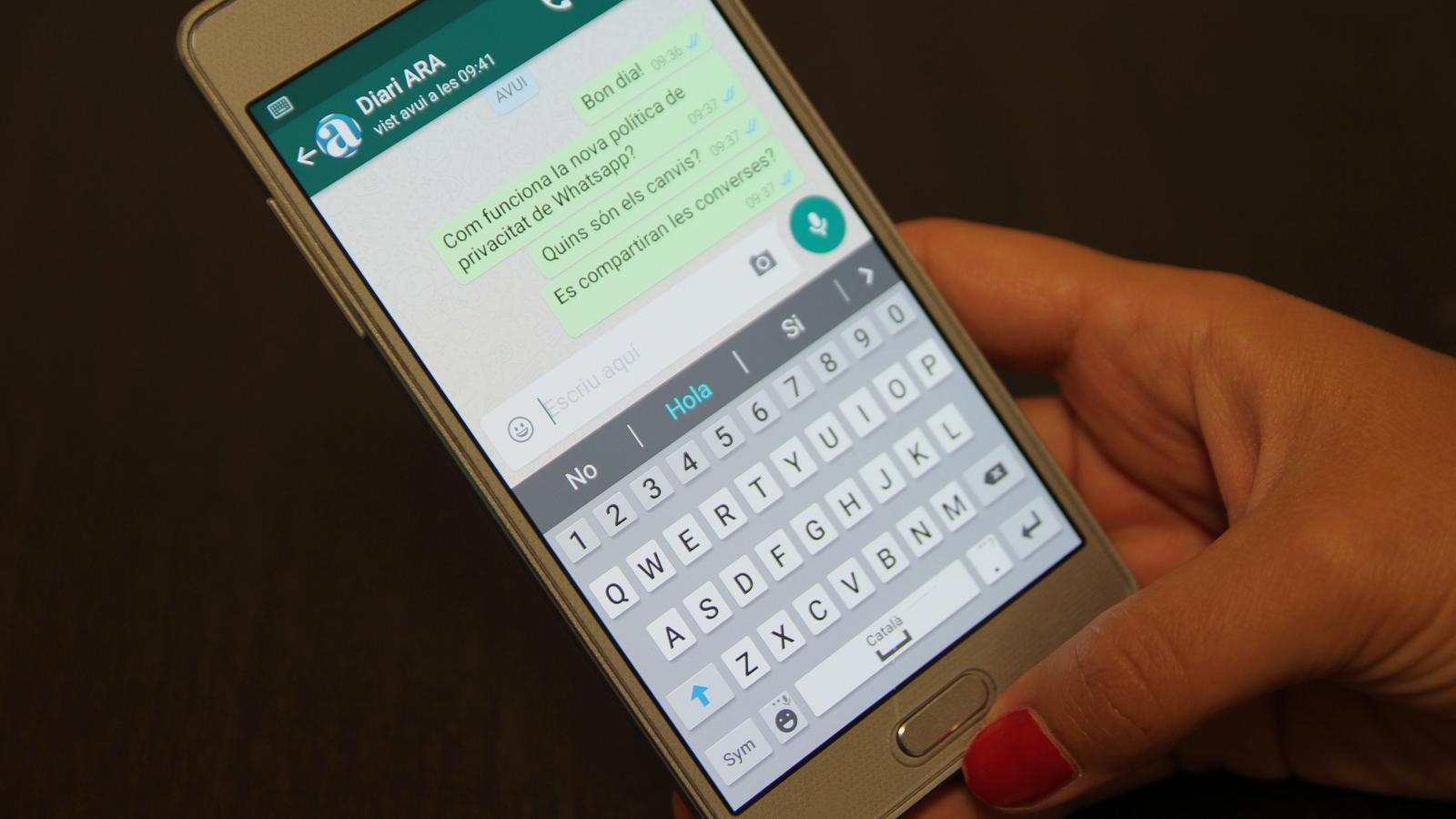 WhatsApp compartirà amb Facebook el número de telèfon dels usuaris