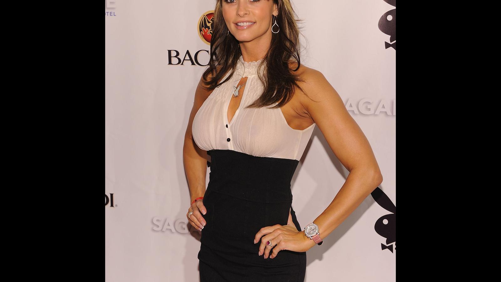 L'exmodel de 'Playboy' Karen McDougal assegura que va mantenir una relació amb Trump.