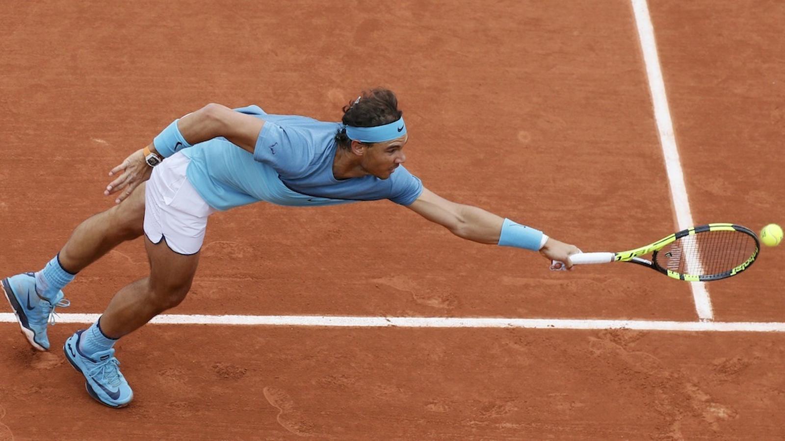 Rafa Nadal debuta amb victòria plàcida a Roland Garros (6-1, 6-1 i 6-1)