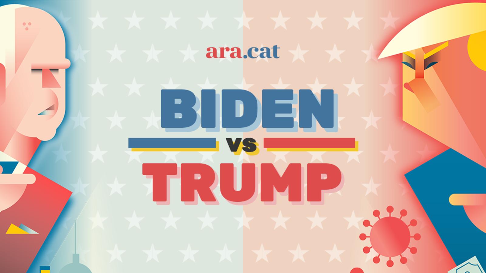 Biden vs Trump, El xoc de les dues Amèriques