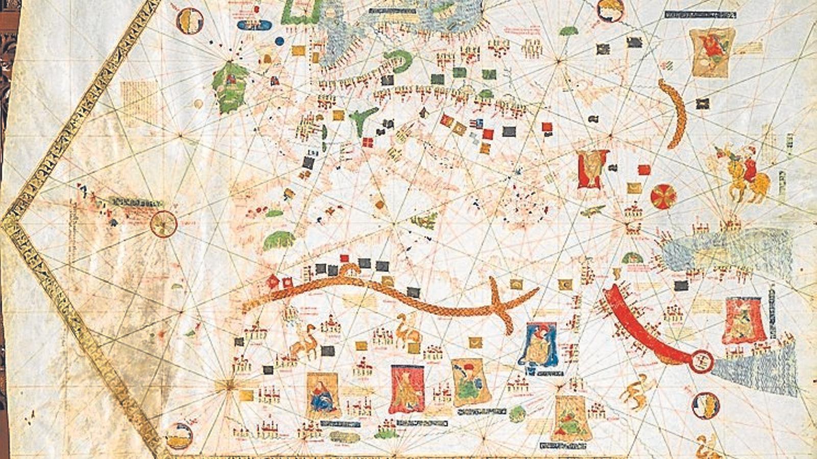 Mapa de Gabriel Vallseca.