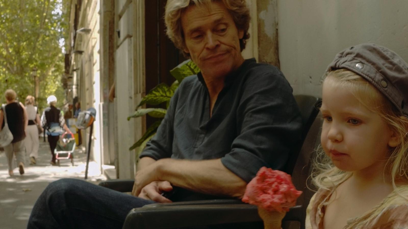 Willem Dafoe i Anna Ferrara a 'Tomasso':