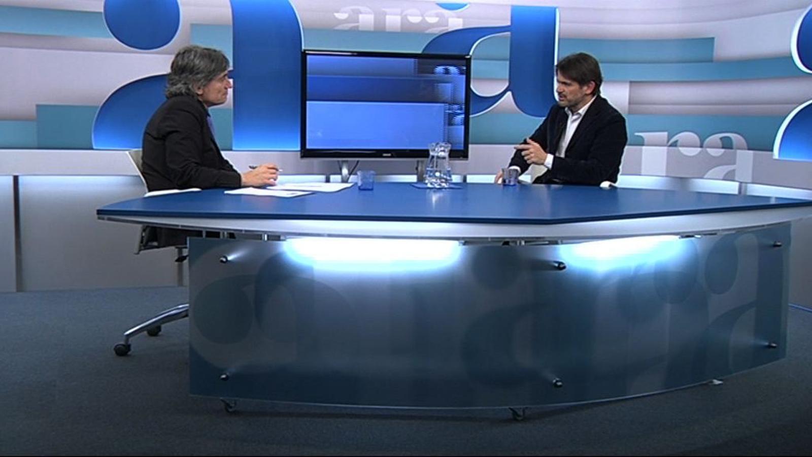 Oriol Pujol: A Catalunya es va començar a treballar tard en el projecte d'Eurovegas