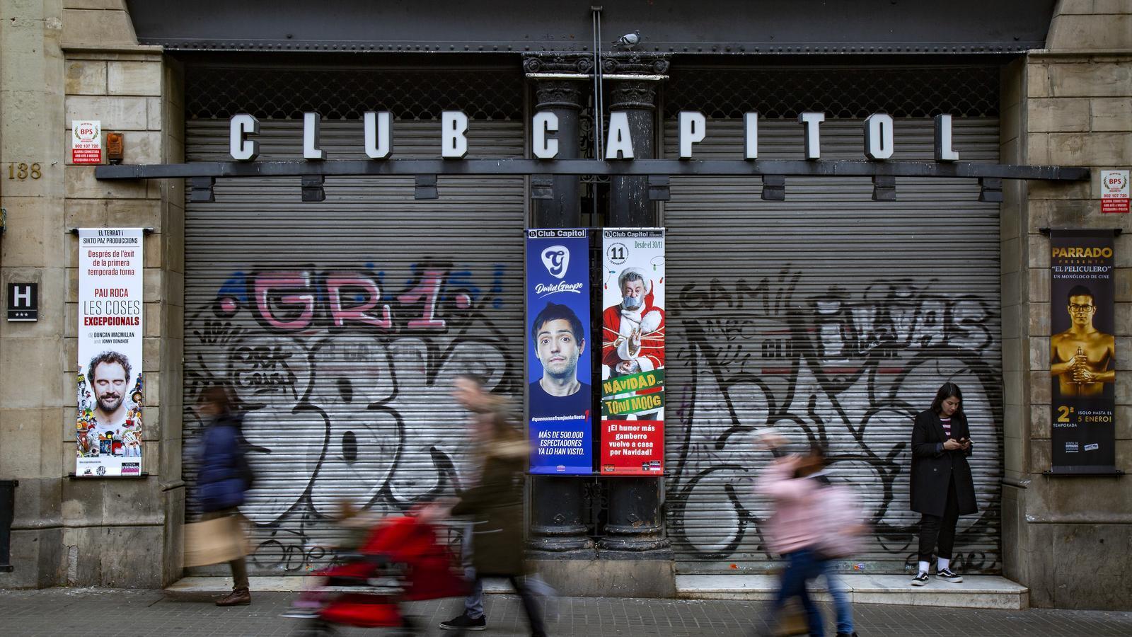 La gentrificació ataca els teatres de Barcelona