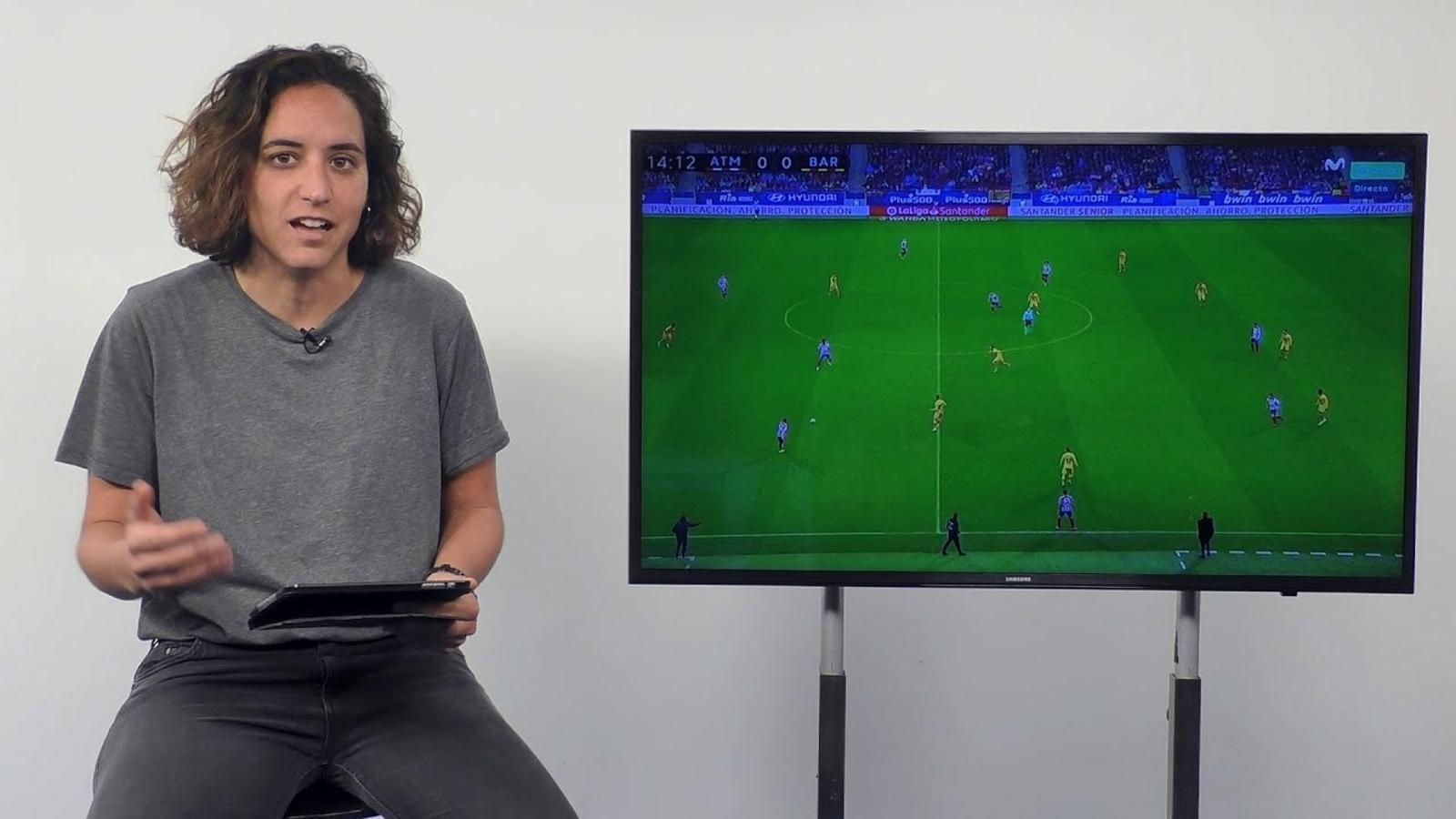 El mode contraatac del Barça
