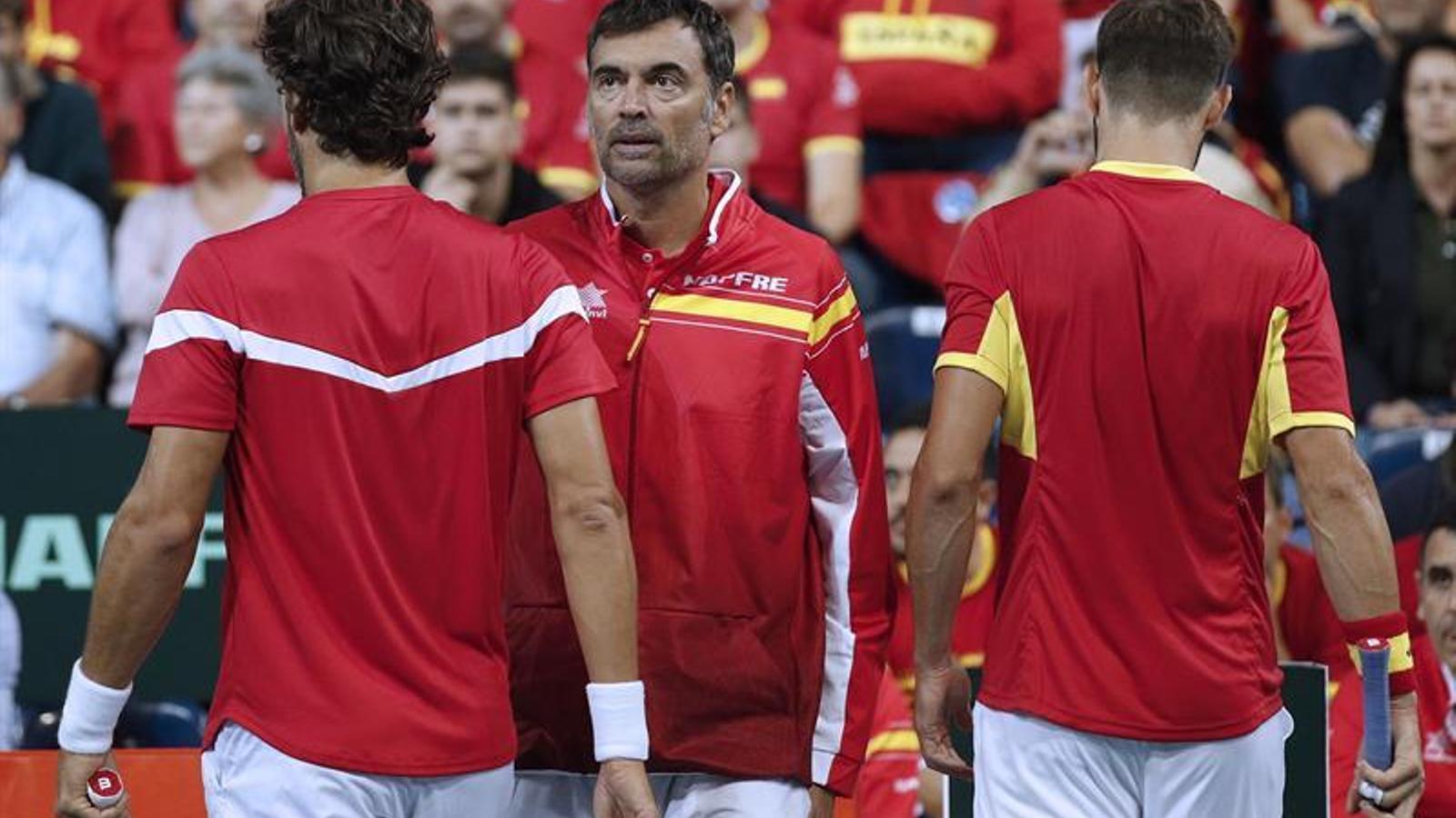 França, sense pietat d'Espanya a les semifinals de la Copa Davis