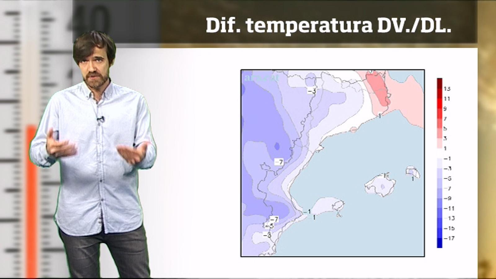 La méteo en 1 minut: temps més variable i més fresc per acabar el maig