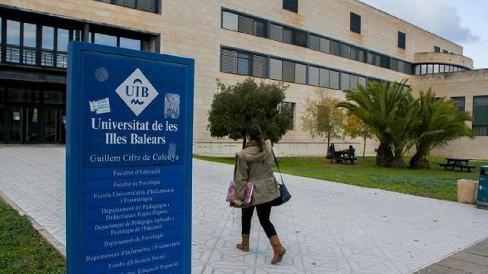 Imatge d'arxiu de la UIB