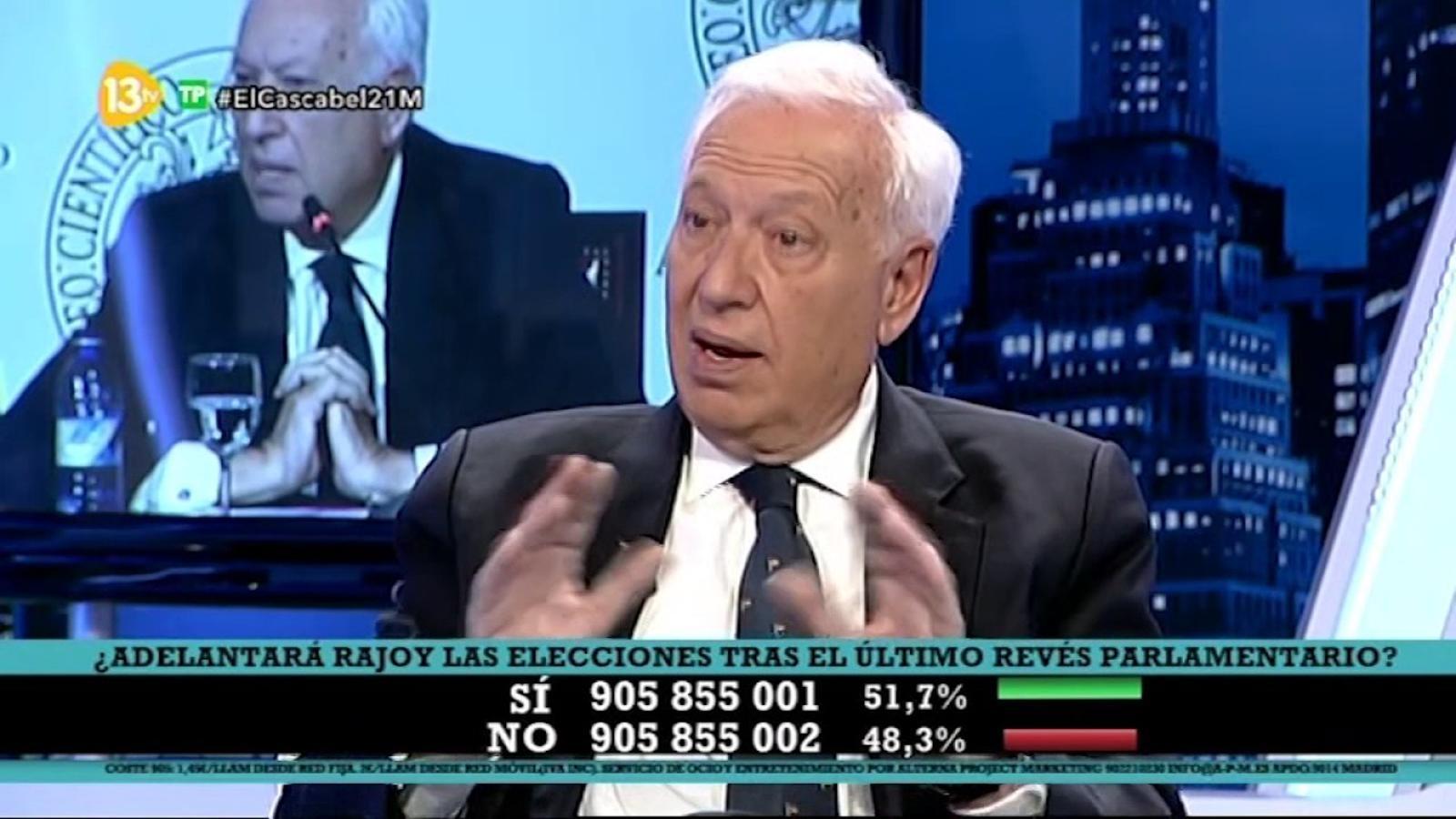 Margallo assegura que va parlar amb diversos països perquè es posicionessin en contra de Catalunya