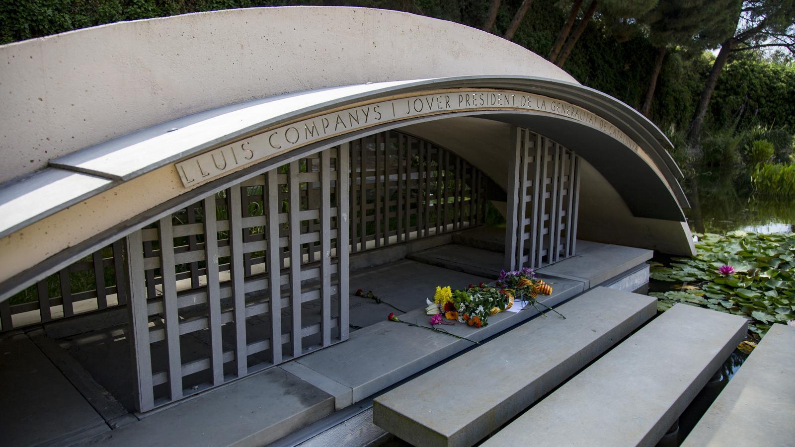 La tomba de Lluis Companys