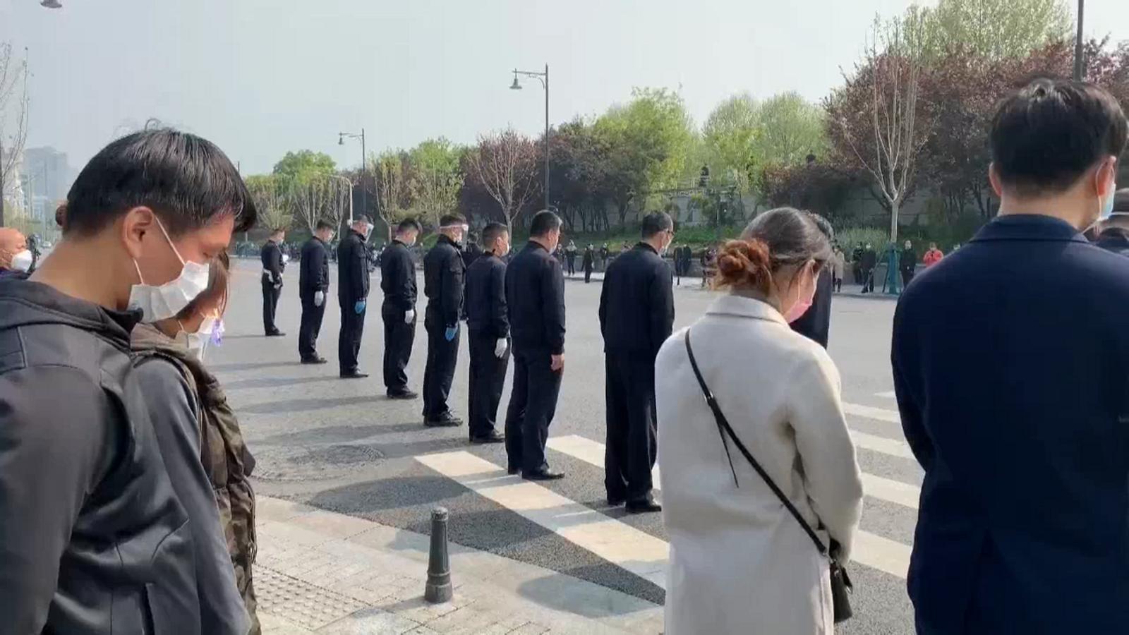 Sonen les sirenes a la Xina en record a les víctimes del coronavirus