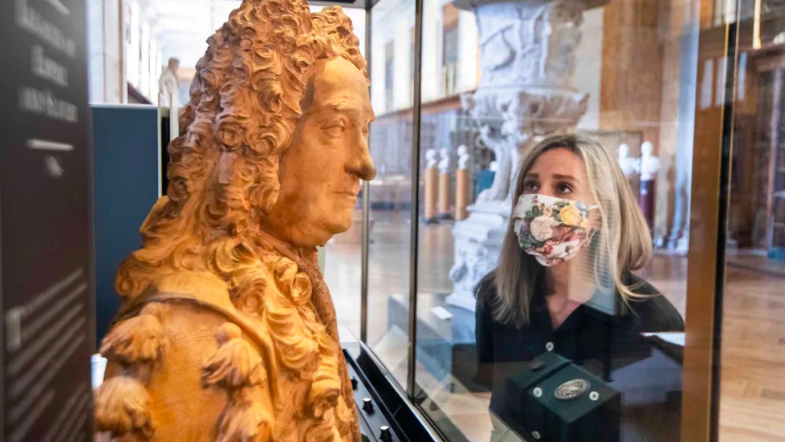 Bust de Sir Harry Sloane al museu britànic