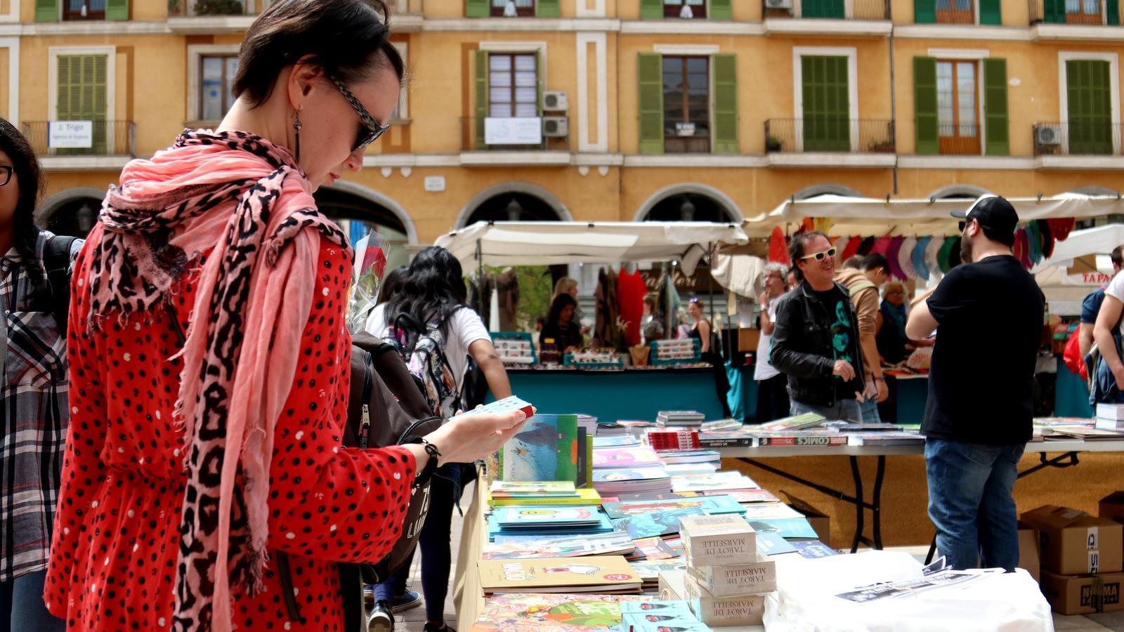 Imatge del Sant Jordi 2019 a Palma