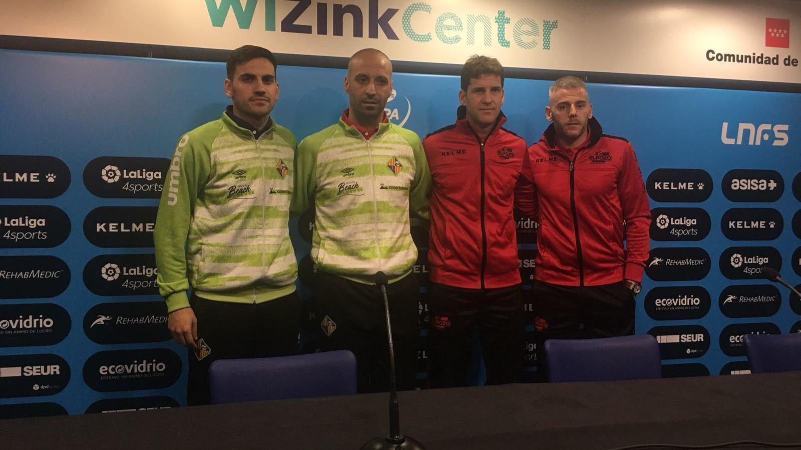El WiZink Center mostra la Copa d'Espanya de Futbol