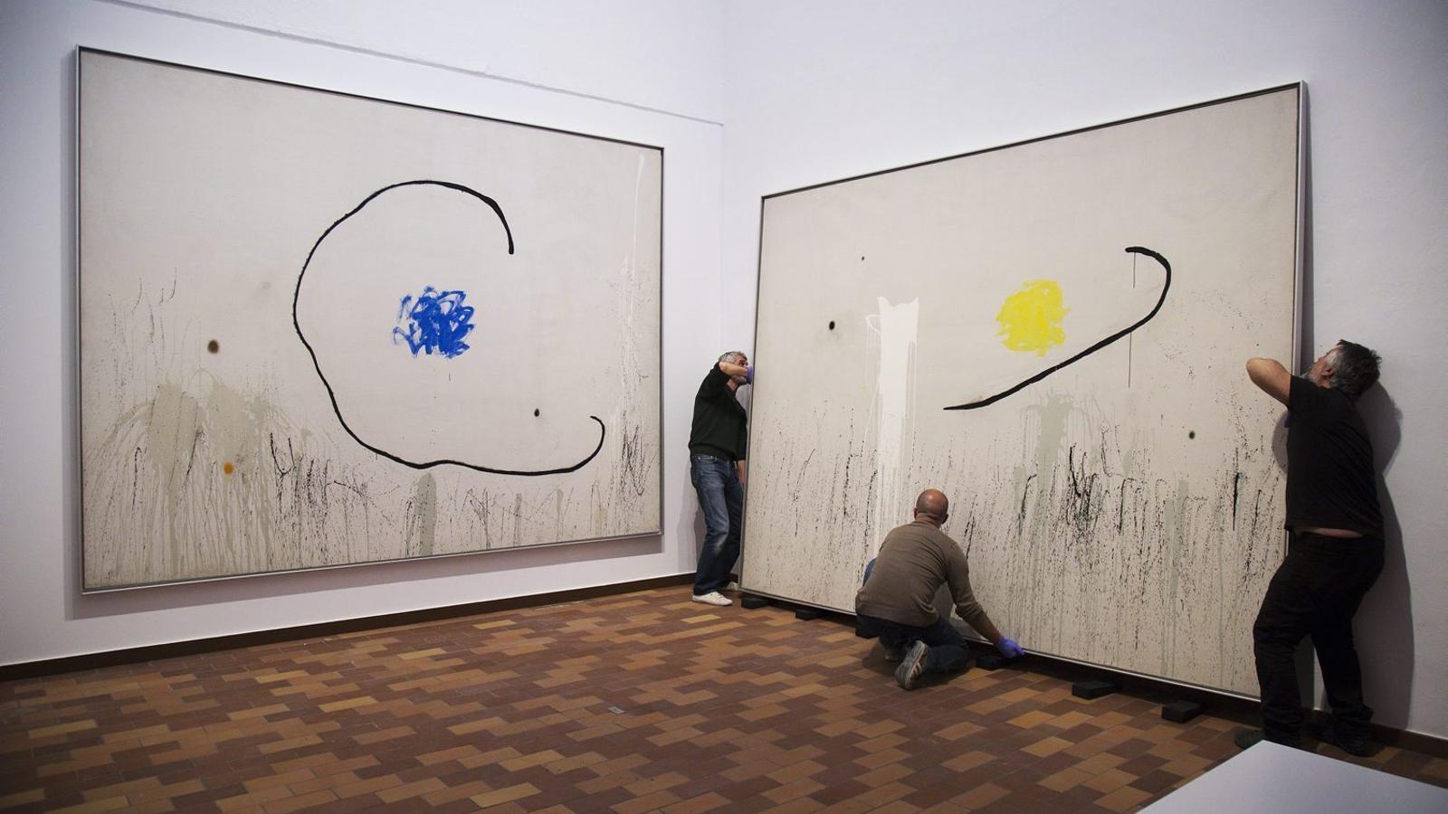 Sis centres d'art a la corda fluixa