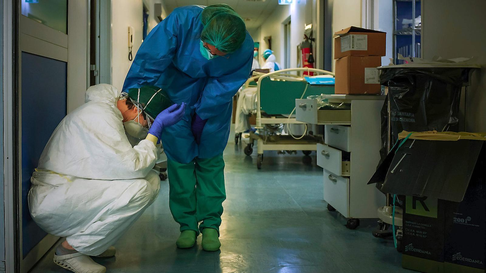 Itàlia i l'OMS, acusades d'amagar la falta d'un pla antipandèmia