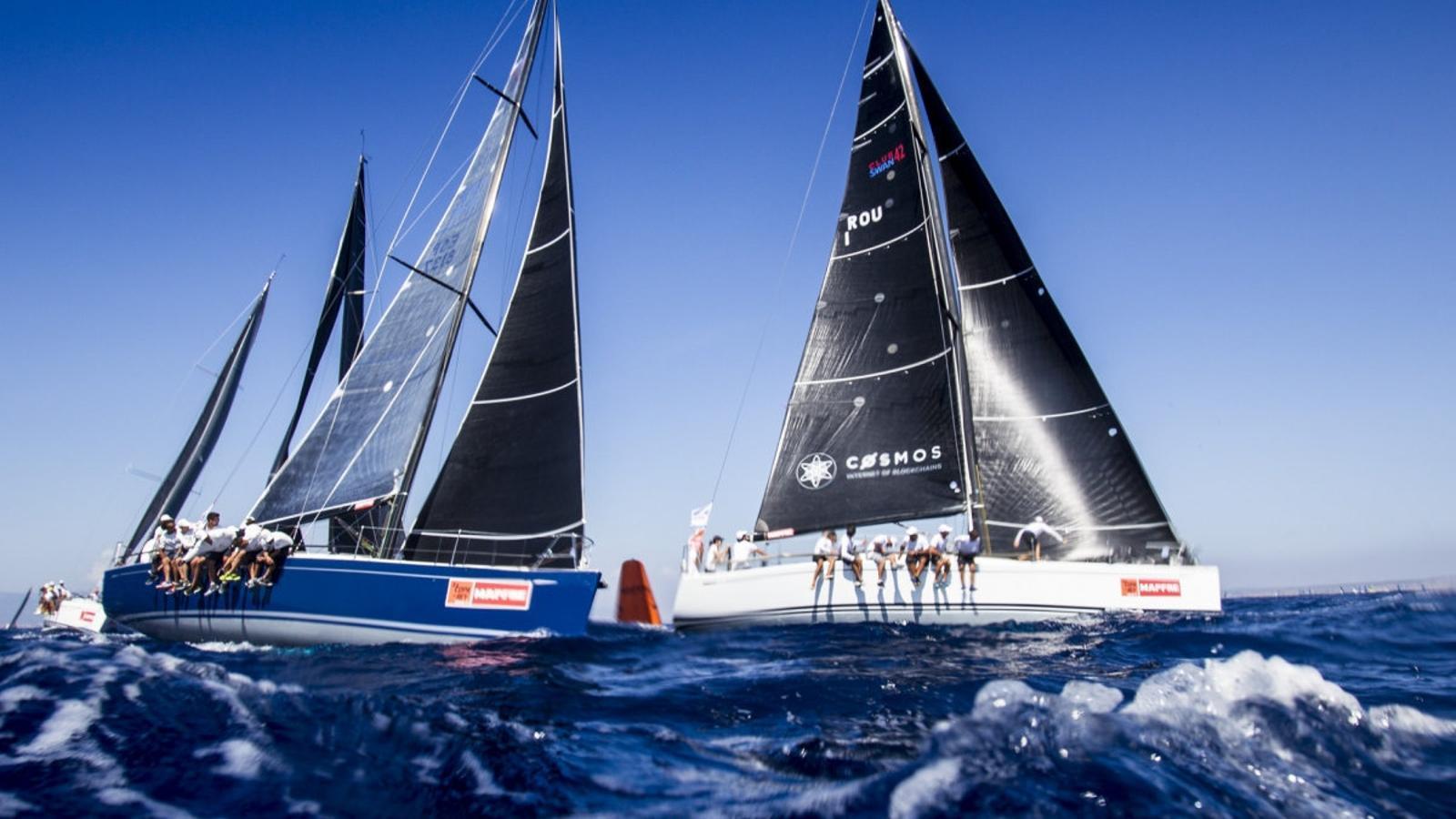 Complertes totes les jornades, han brillat els equips que millor han sabut dominar el vent suau de la badia de Palma.