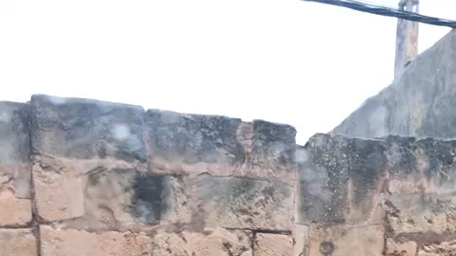 Carrer inundat Vilafranca
