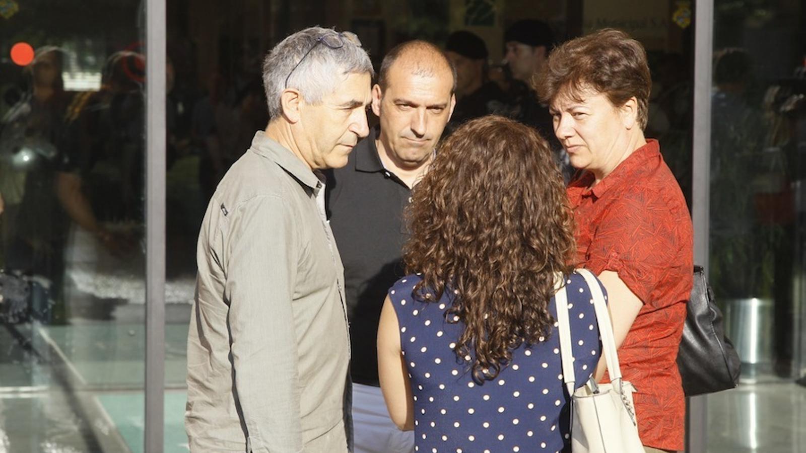 El pare de Jorge Lorenzo ha visitat el tanatori