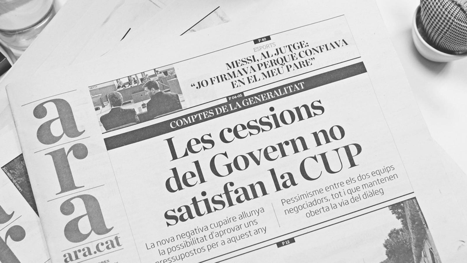 L'anàlisi d'Antoni Bassas: 'Aturats en el camí per trobar la majoria'