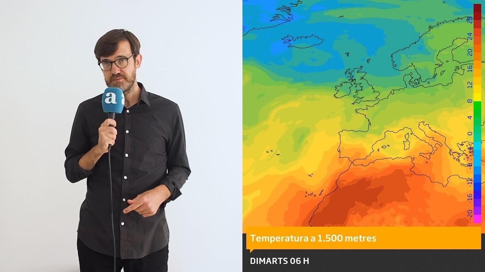 La méteo: aquest divendres serà el dia de calor més extrema de l'estiu