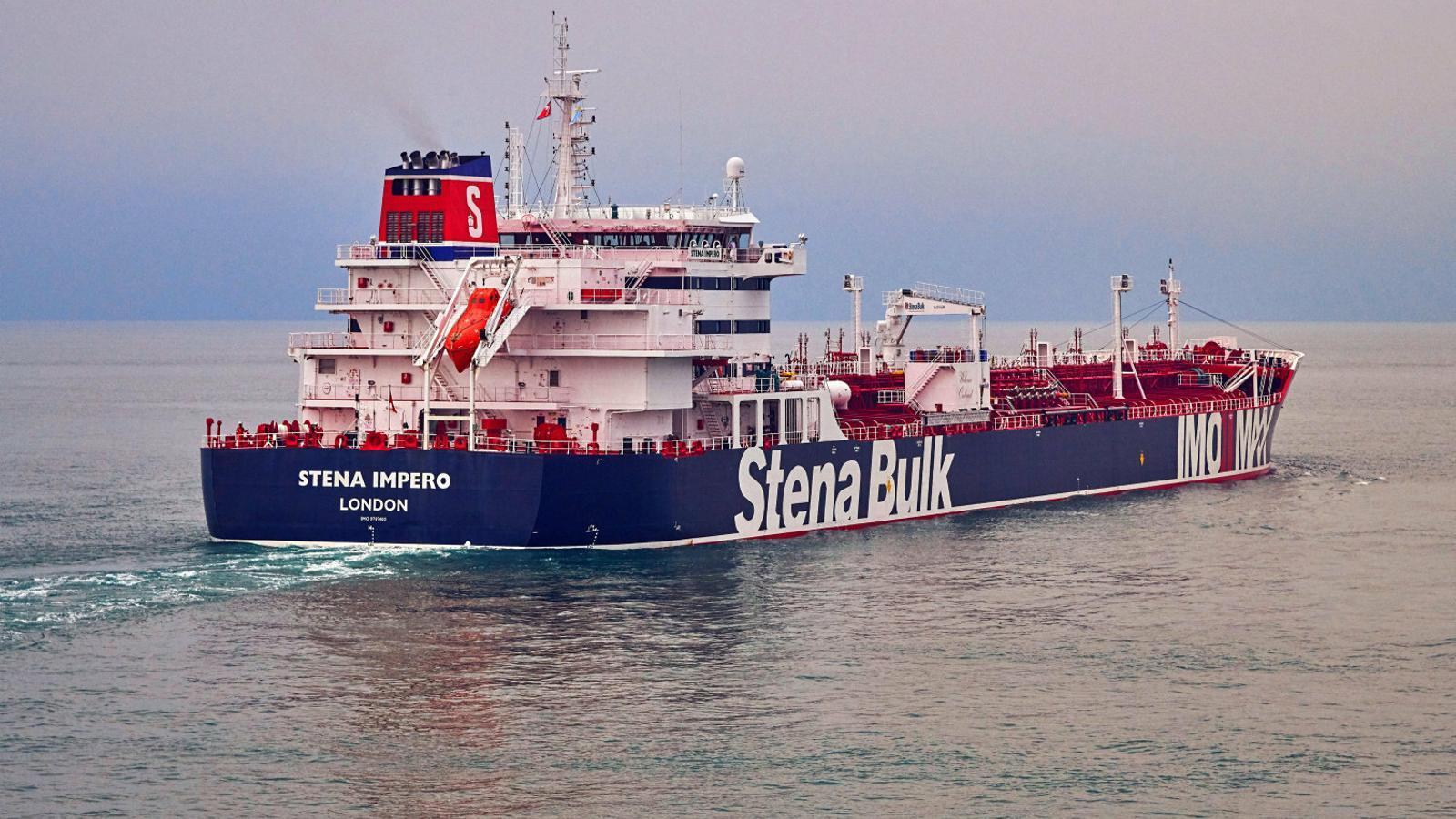 L'Iran captura un petrolier britànic