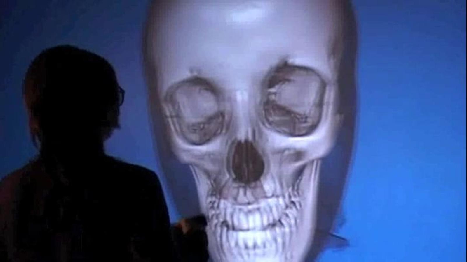 Com funciona la 'paret virtual' de la UPC per veure l'interior del cos humà?