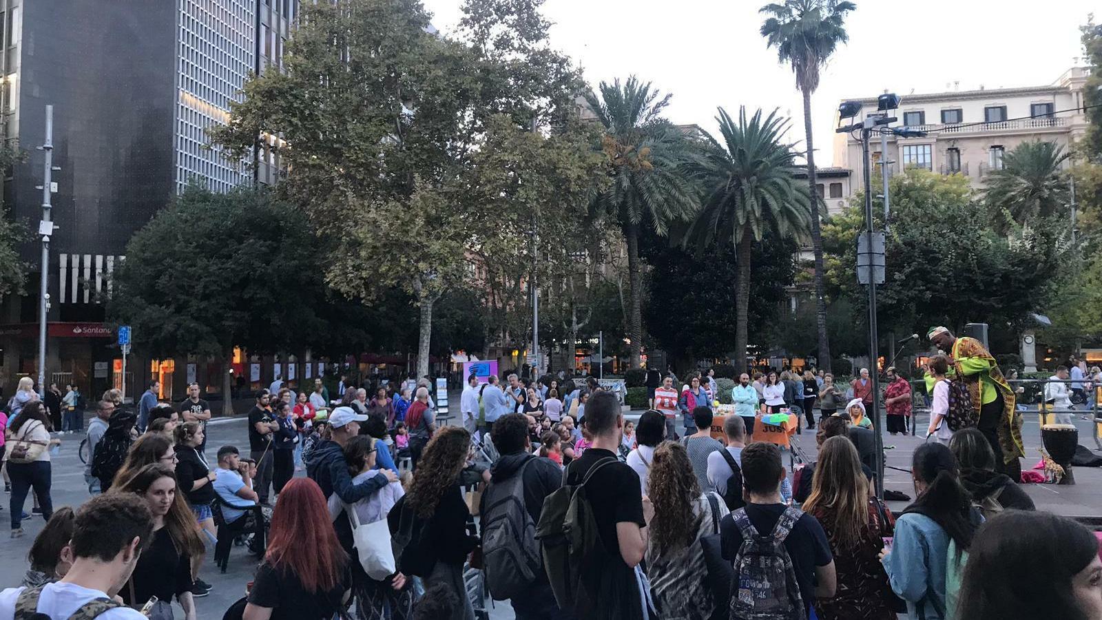 Actes amb motiu del dia internacional per a l'eradicació la pobresa a Palma