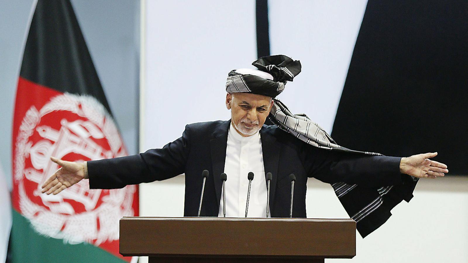 El president de l'Afganistan, Aixraf Ghani, ha revalidat el càrrec.