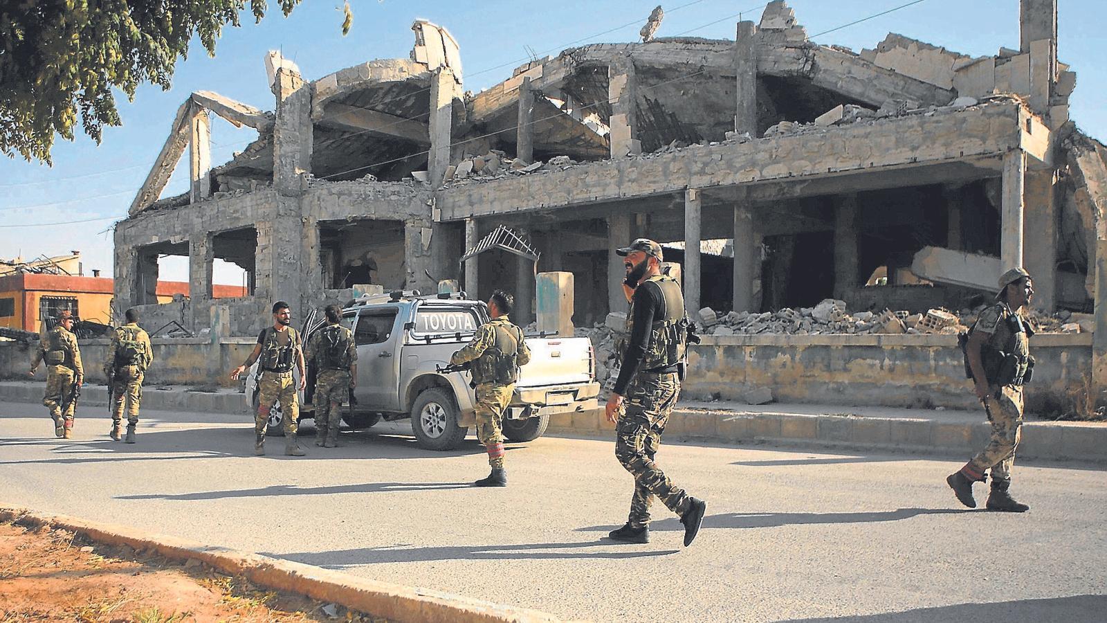 Terra cremada al Kurdistan sirià
