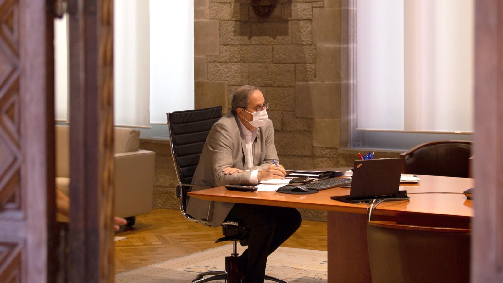 """L'anàlisi d'Antoni Bassas: """"Torra dona més recorregut al govern que no en tenia"""""""
