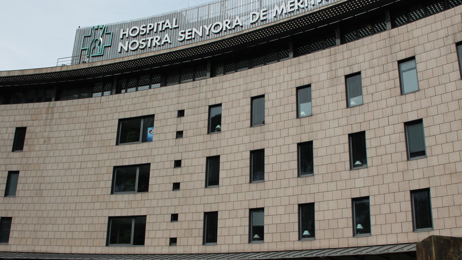 L'hospital Nostra Senyora de Meritxell. / ARXIU ANA