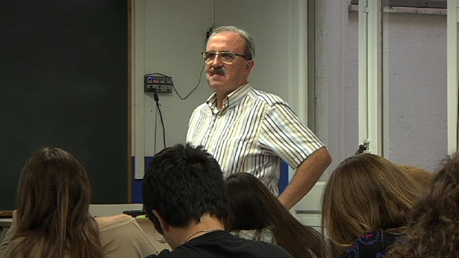 ARA Mestres: Jordi Besora és professor de matemàtiques des del 1982