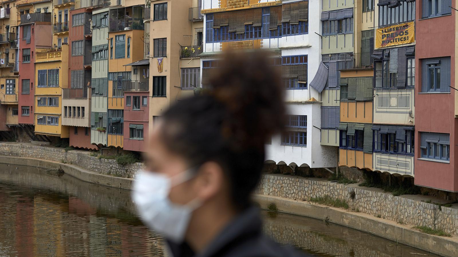 Girona durant el confinament