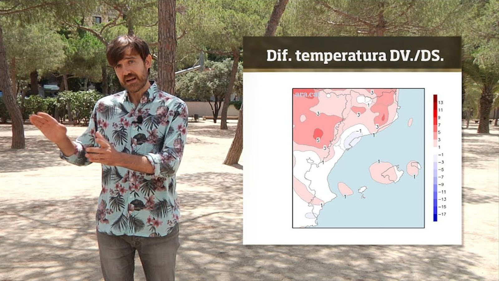 La méteo en 1 minut: la calor es dispararà durant el cap de setmana