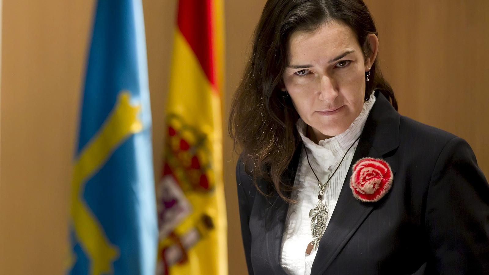 La ministra de Cultura, Ángeles González Sinde