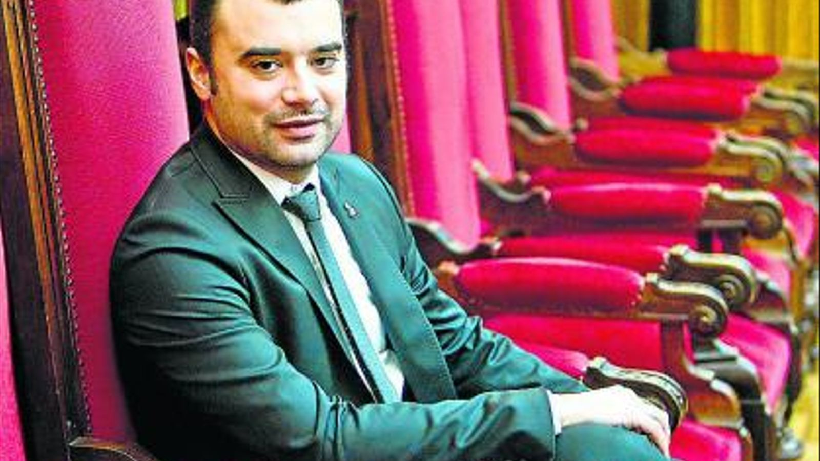 L'alcalde de Terrassa, Jordi Ballart / PERE VIRGILI