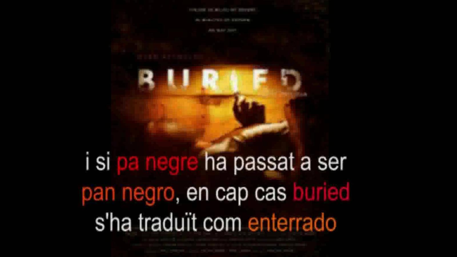 'Pa negre', 'Pan negro', 'Black bread': Raül Agné ja no entén res