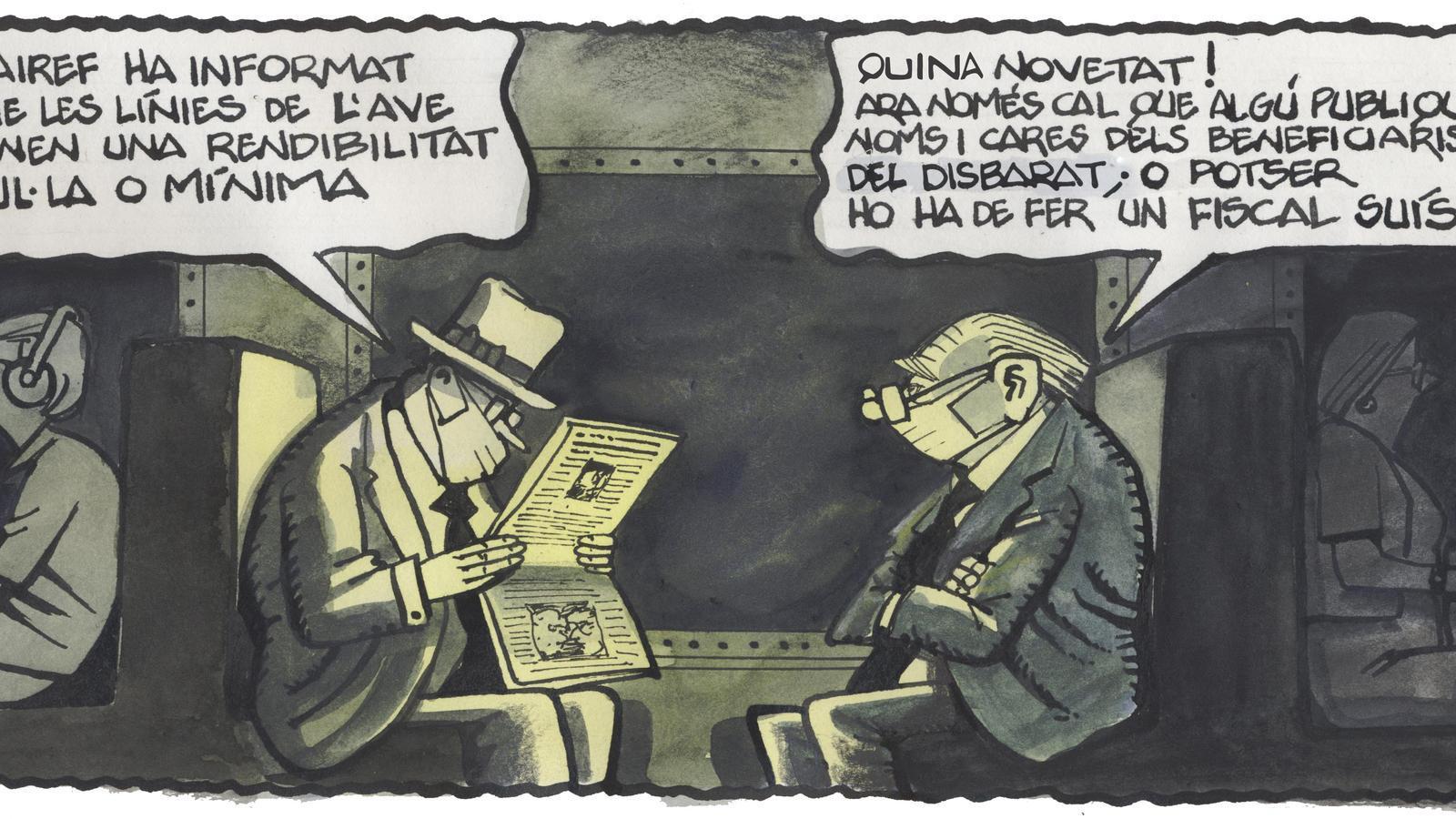 'A la contra', per Ferreres 11/08/2020