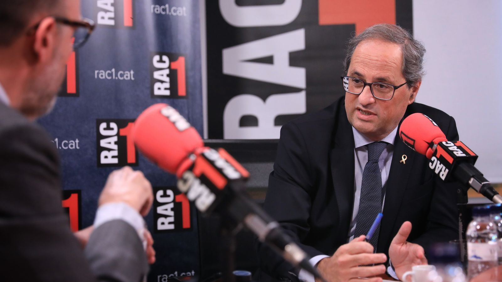 Quim Torra pressiona ERC perquè voti en contra de la investidura de Sánchez