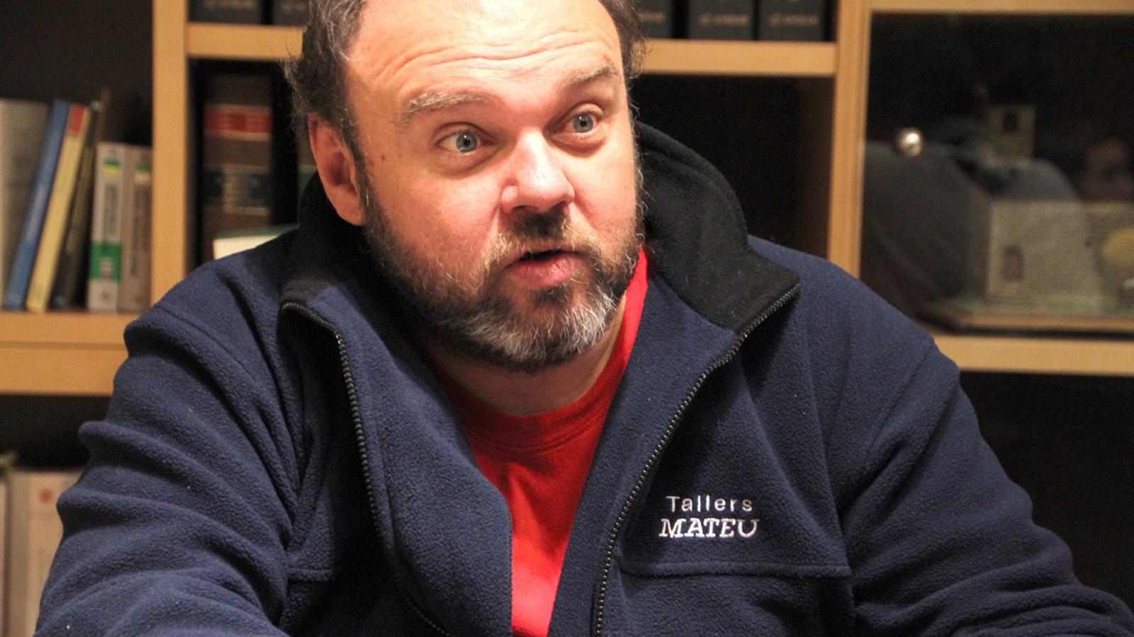El secretari general de l'USdA, Gabriel Ubach. / ARXIU ANA