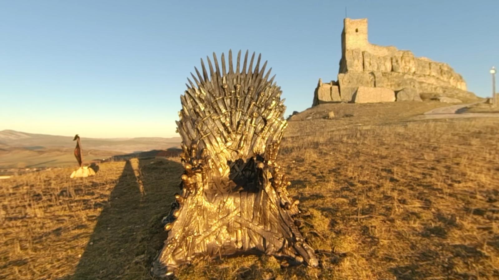 Un dels trons de ferro de 'Joc de trons' està amagat a Espanya