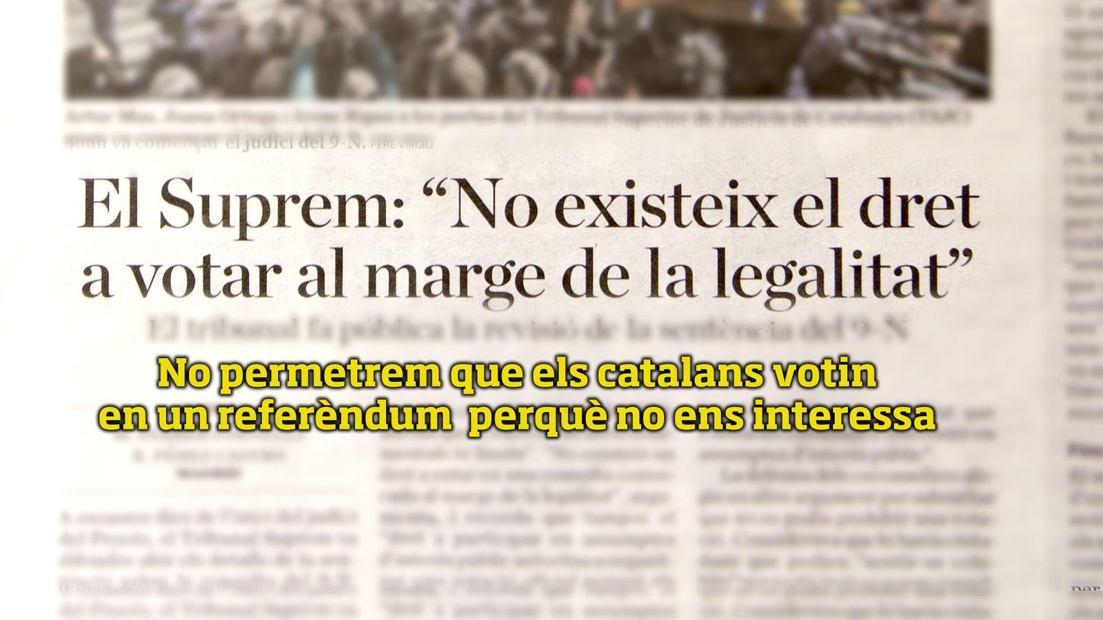 L'anàlisi d'Antoni Bassas: 'Posem subtítols al Tribunal Suprem'