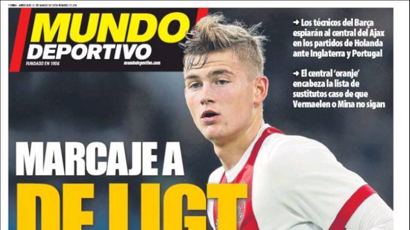Portada 21 març 2018 Mundo Deportivo