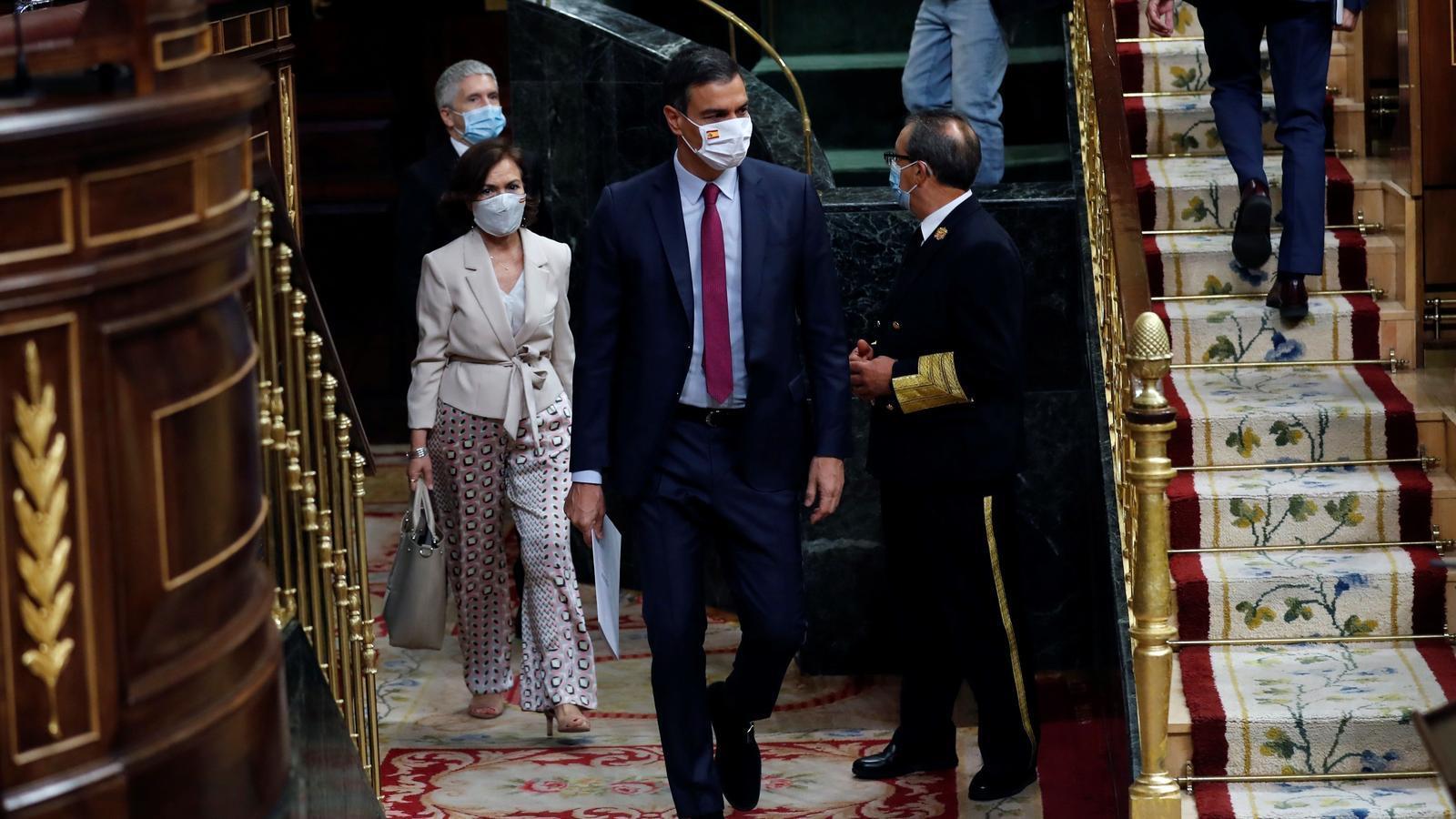 EN DIRECTE | Pedro Sánchez explica al Congrés l'acord europeu pel fons de reconstrucció