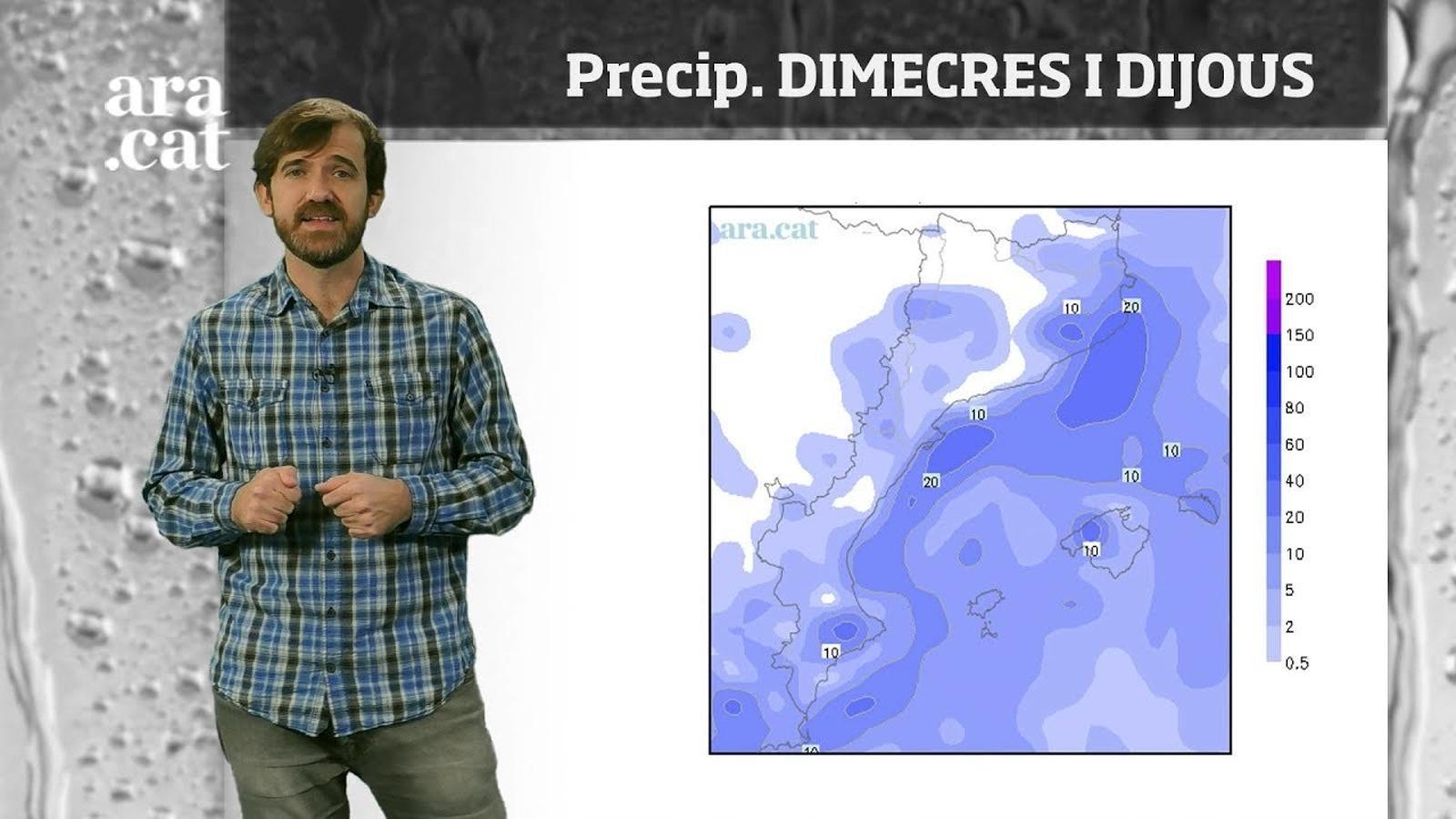 La méteo en 1 minut: pluges a l'est a l'espera del fred
